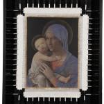 Mantegna con telaio